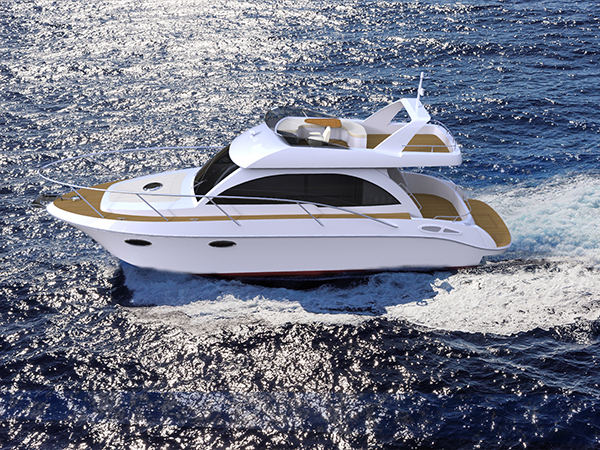 玻璃钢游艇的维护与保养